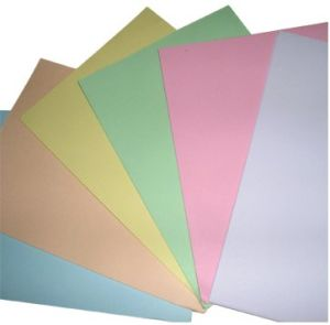 Hight Quality Color Printing Paper for Makeing File Fold. pictures & photos