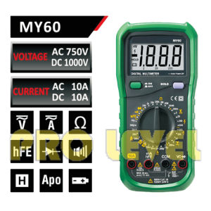 2000 Counts Professional Digital Multimeter (MY60) pictures & photos