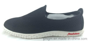 Casual Slip-on Flyknit Shoes for Men and Women pictures & photos