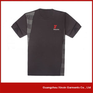 Customized Short Sleeve Sport Tee Shirts Manufacturer (R59) pictures & photos