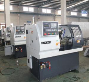 Economic CNC Lathe Machine with CE Approved (Mini CNC Lathe J32 J35) pictures & photos