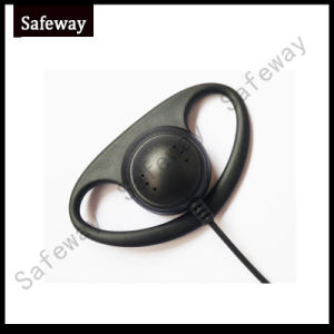 Soft D Earhook Walkie Talkie Headset for Kenwood pictures & photos