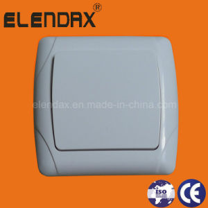 European Style Flush Mounted Single-Pole on-off Wall Switch (F3001) pictures & photos