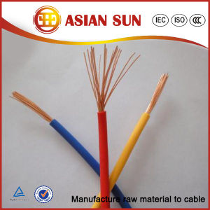 Factory Price450/750V PVC Insulationelectrical Cable pictures & photos