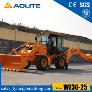 Backhoe Wz30-25 Backhoe Loader with Low Price for Sale pictures & photos