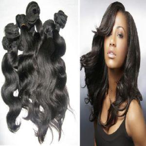 Best Quqlity Virgin Unprocessed Natural Color Brazilian Bundle Hair Weave pictures & photos