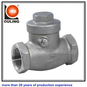 Stainless Steel Screw Check Valve (OULING-041)