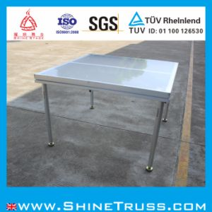 Aluminum Mobile Stage and Acrylic Glass Stage Platform pictures & photos