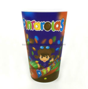 Walmart Audited Factory 3D Lenticular Plastic Coffee Cup pictures & photos