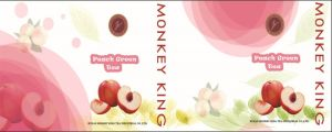 Peach Fruit Green Tea