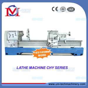 Big Hole High Speed Precision Lathe (CHY6266/6280) pictures & photos