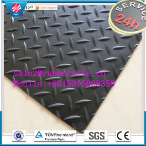 Industrial Acid Resistant Rubber Floor Sheet, Cloth Insertion Rubber Sheet pictures & photos