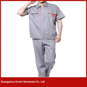 Custom Made Short Sleeve Work Uniform for Summer (W234) pictures & photos