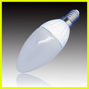 SMD Ceramic Body LED Candle Light LED Bulb pictures & photos
