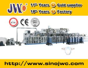 Semi Servo Elastic Ear Diaper Machine Jwc-Nk400-Eb pictures & photos