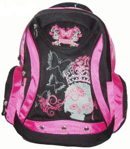 Cute Printed School Backpack Bags for Girl, pictures & photos
