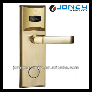 Security System Hotel Electronic Door Lock with 13.56MHz Mf pictures & photos