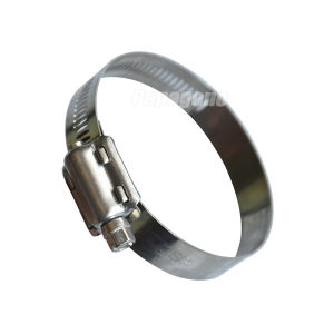 American Types of Stainless Steel Hose Clamp Pipe Clamp pictures & photos