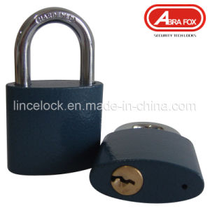 Top Security Heavy Duty Grey Iron Padlock-Oval Type (303) pictures & photos
