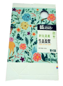 500ml Gable Top Box/Carton for Milk/ Juice/Cream/Wine/Yoghurt/Water pictures & photos