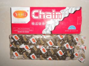 Yog Motorcycle Chain 420 428 520 H Suzuki YAMAHA Chinese Models Indian Bajaj Tvs for Honda pictures & photos