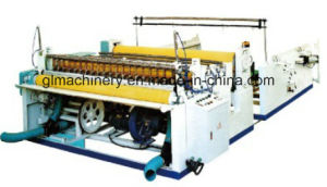 Industrial Roll Slitting Rewinder for Small Jumbo Roll Toilet Paper Roll pictures & photos