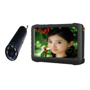 "5"" HD Micro Mini 2.4GHz Wireless Pipe Inspection Camera DVR 5"" Screen HD Video Recorder Te810h pictures & photos"