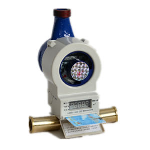 Prepaid/Prepayment Brass Body Flow Water Meter pictures & photos