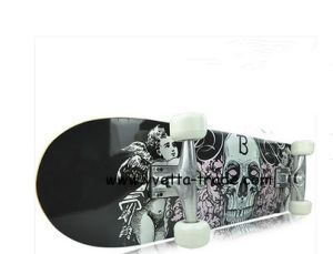 "31"" * 7.5 "" Skateboard with Double Kick (YV-3108-1) pictures & photos"