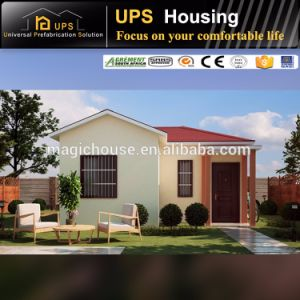 Durable Single Floor/Level ISO Certificated Low Cost Prefab Villa pictures & photos