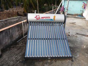 240L Heat Pipe Solar Energy Water Heater with CE Approved pictures & photos