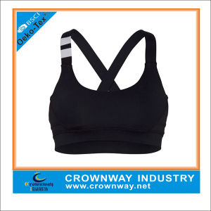 Women Sexy Sports Bra, Running Plain Fitness Yoga Bra pictures & photos