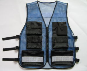 Working Sleeveless Reflective Safety Jacket pictures & photos
