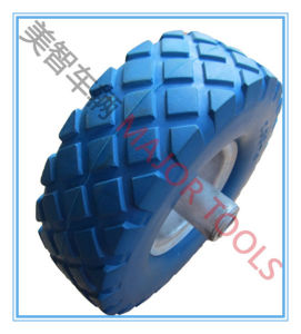 Factory Directly Sell 3.00-4 PU Foam Barrow and Trolly Wheel pictures & photos