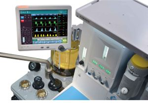 Touch Screen with Ventilator Anesthesia Machine with Ce (SC-AX700) pictures & photos