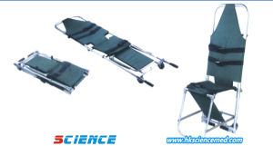 Two Foldaway Ambulance Stretcher (2 wheels) pictures & photos