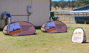 Top Quality Dye-Sub Printing Outdoor Event Advertising Pop out Pop up a Frame Banner with Graphic Promotional Golf Sports Game Day Displays pictures & photos