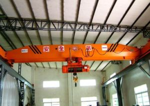 Single Girder Running Overhead Hoist Crane pictures & photos
