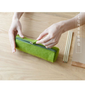2017 New Designer Eco-Friendly Felt Pencil Pen Pouch Made in China pictures & photos