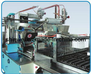 Full Automatic Servo Driven Hard Candy Depositing Line (GD150-S) pictures & photos