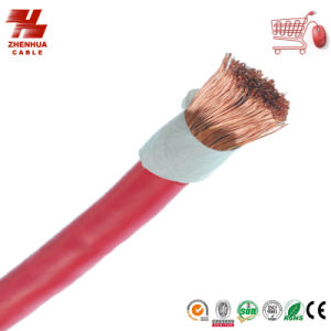 Cu/CCA Conductor Rubber /PVC Insulate Welding Cable/Machine Cable pictures & photos