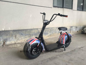 New City Electric Scooter with Removeable Battery Can Charging at Home 2017 New Design pictures & photos