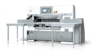 Full Automaic Paper Cutter (SQZ-137CT KC) pictures & photos