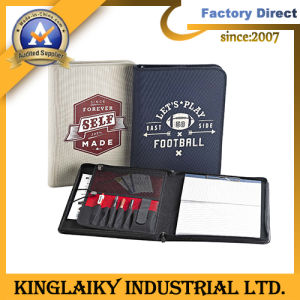 Customized Fashion Manager Folder with Zipper for Gift (MF-01) pictures & photos