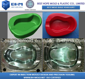 Hospital Plastic Bedpan Injection Mould pictures & photos