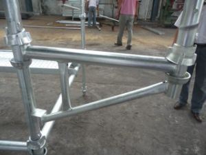 HDG Cuplock Scaffold Side Bracket pictures & photos