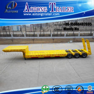 6 Axles150t Lowbed Semi Trailer, Lowboy Truck Trailer pictures & photos
