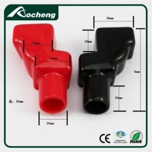 PVC Battery Terminal Cover with Black Red pictures & photos