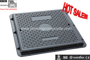 En124 SMC Composite Electrical Manhole Covers/ Sanitary FRP Manhole Cover and Frame pictures & photos