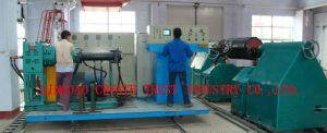 New Technology Rubber Roller Extrusion Line/Rubber Roller Extruding Line pictures & photos